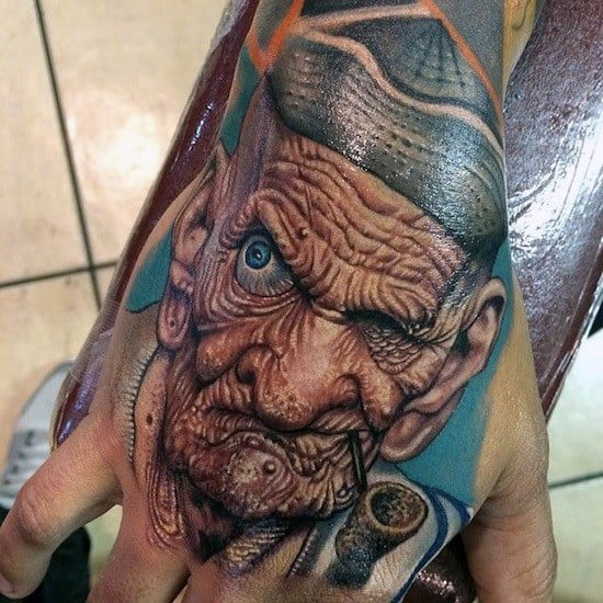 top 50 best hand tattoos for men fist designs and ideas. Black Bedroom Furniture Sets. Home Design Ideas