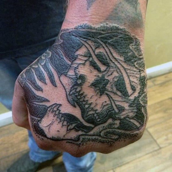 Hands Grim Reaper Tattoo Men's Designs Masculine