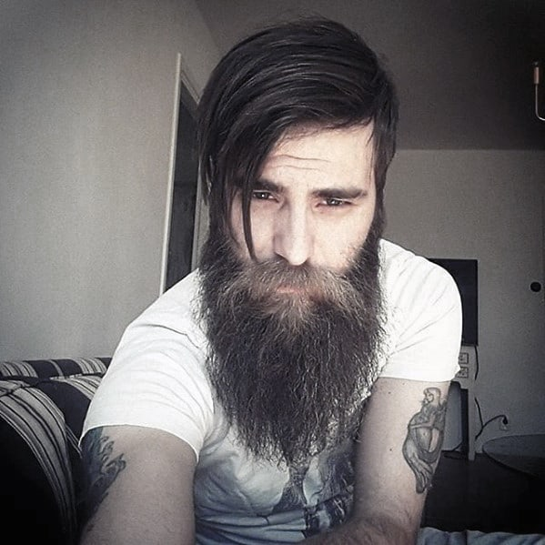 Handsome Mens Big Beard Style Inspiration