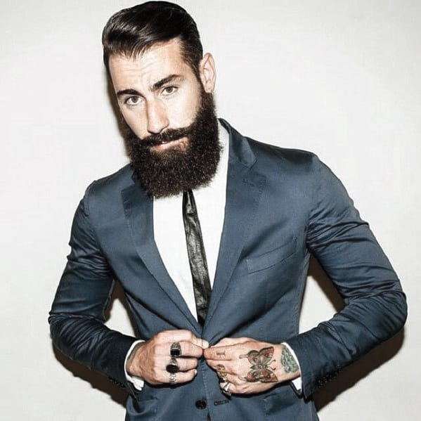 Handsome Mens Classy Beard Style Inspiration