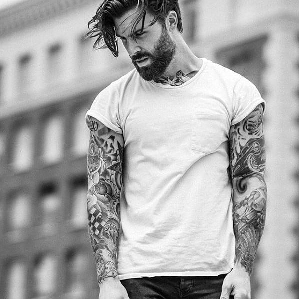 Handsome Mens Cool Beard Style Inspiration