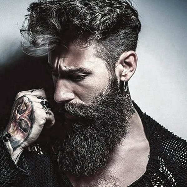 Handsome Mens Great Beard Style Inspiration
