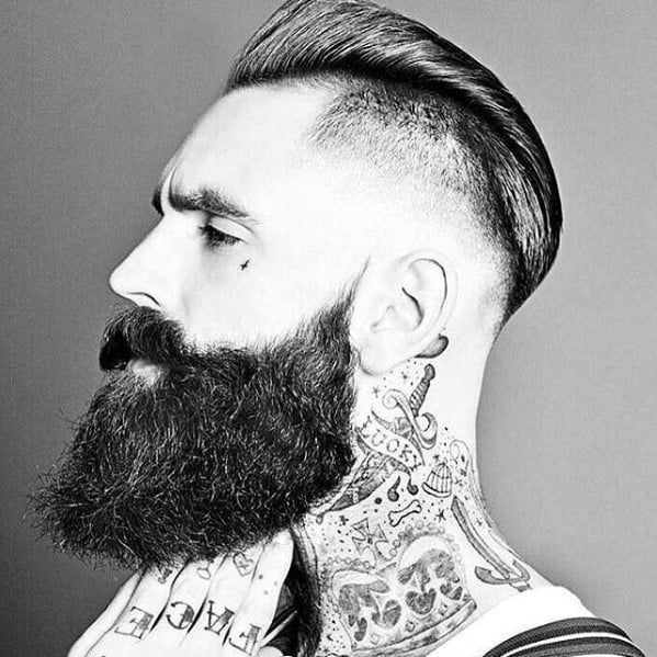 Handsome Mens Manly Beard Style Inspiration