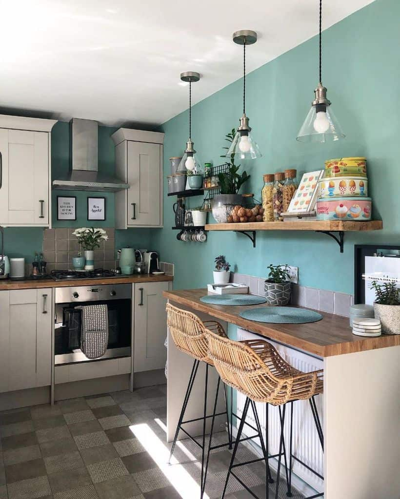 hanging bulbs kitchen lighting ideas elm_terrace_interior