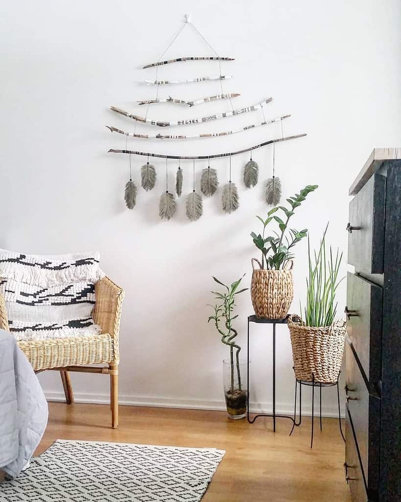 hanging diy wall decor ideas homediyhomestyle