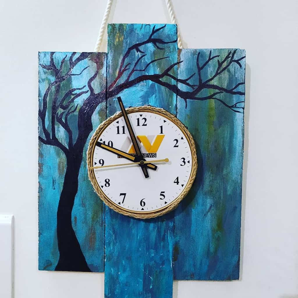 hanging diy wall decor ideas indian.youtuber.hema