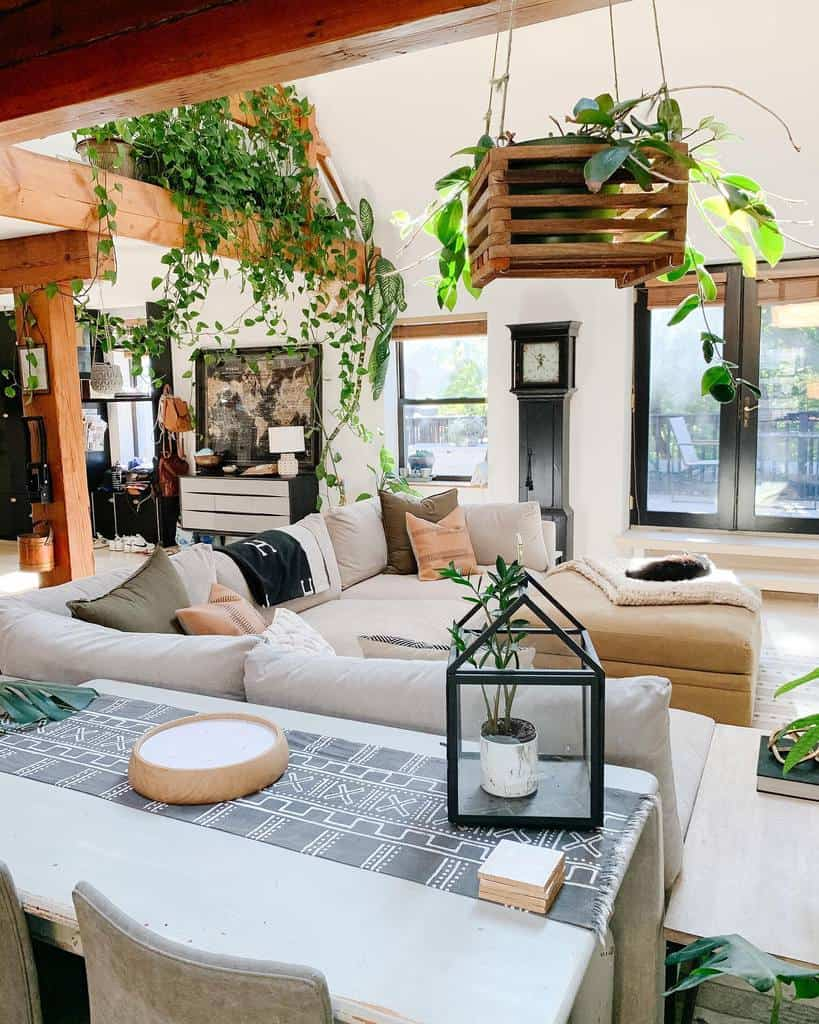 hanging planter indoor garden ideas chi_loft_style