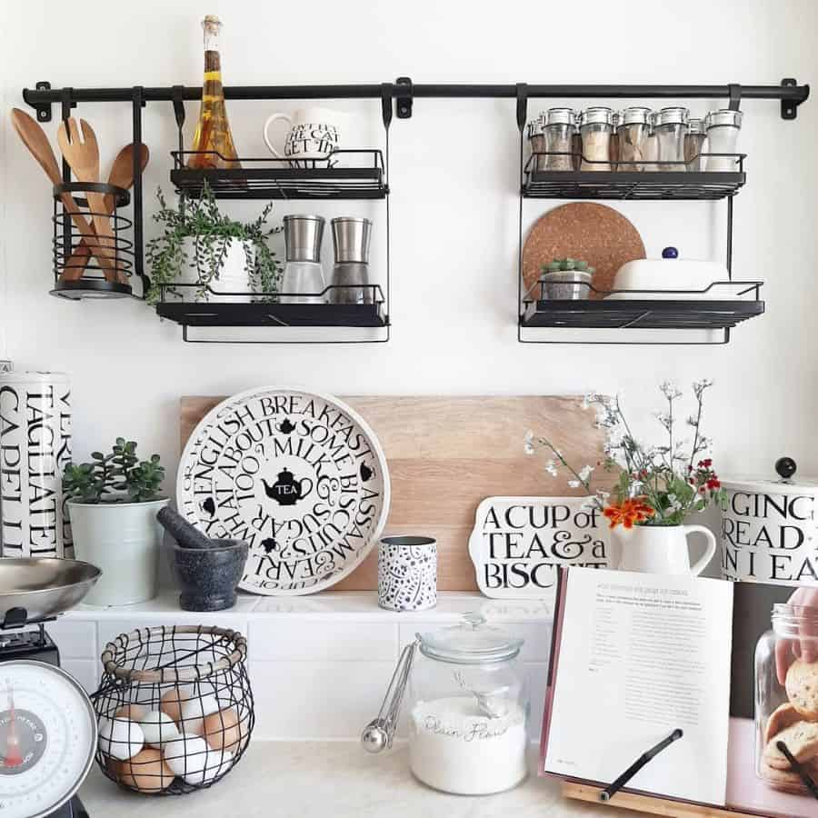 hanging storage kitchen storage ideas ourlittlehome_2019