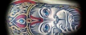 60 Hanuman Tattoo Designs For Men – Hinduism Ink Ideas