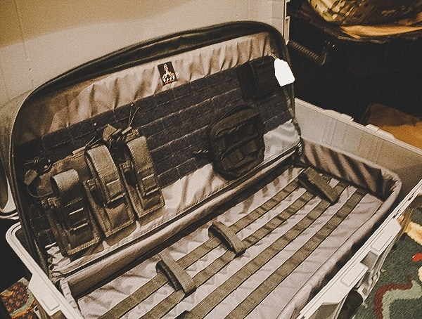 Hard Case Insert With Molle Panel