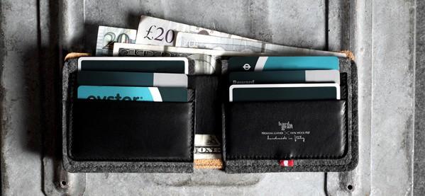 Hard Graft Bi-Fold Heritage Men's Wallet