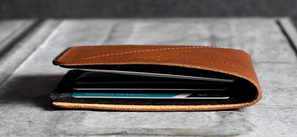 Hard Graft Bi-Fold Heritage Wallet For Men
