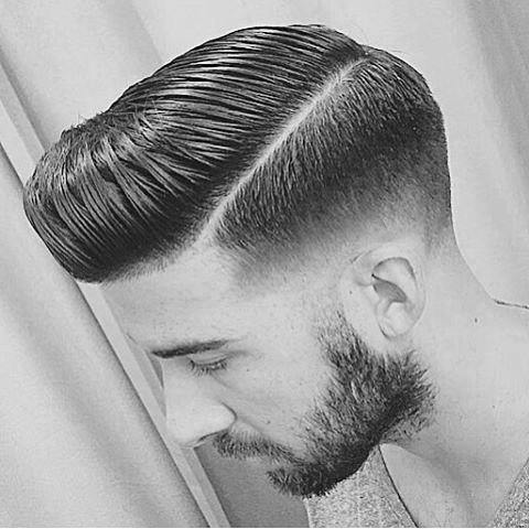 Hard Part Classic Male Hair Inspiration