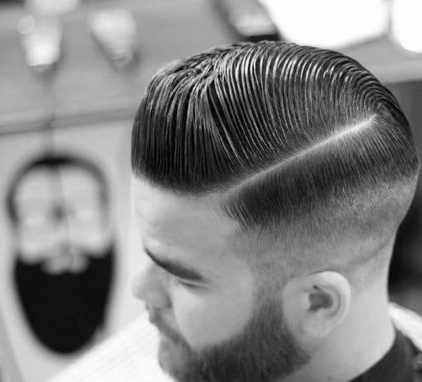 Hard Part Guys Old School Fade Haircut