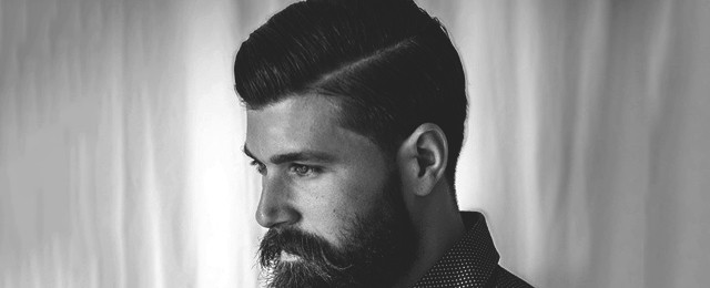 40 Hard Part Haircuts For Men – Sharp Straight Line Style