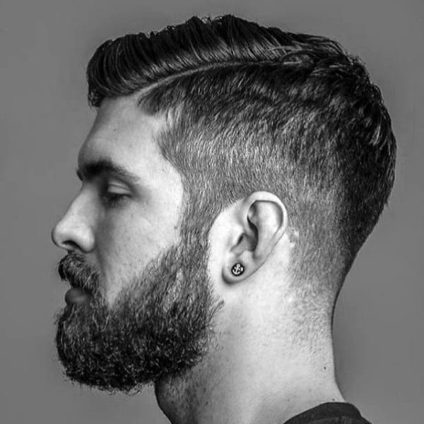 Hard Part Mens Short Classic Haircut