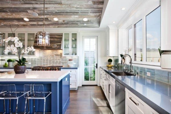 Hardwood Kitchen Ceiling Ideas