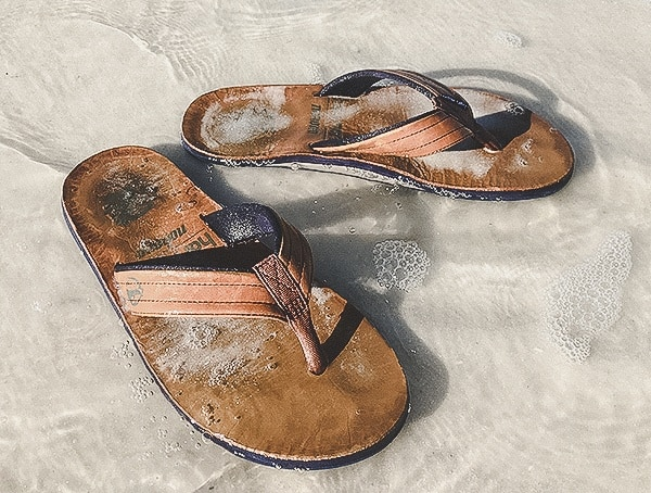 Hari Mari X Nokona Sandals Field Test Ocean Salt Water Sand