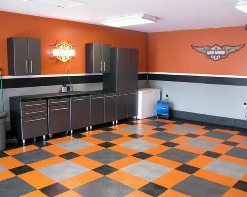 50 Garage Paint Ideas For Men - Masculine Wall Colors And ... on Garage Colors  id=30530