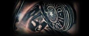90 Harley Davidson Tattoos For Men – Manly Motorcycle Designs