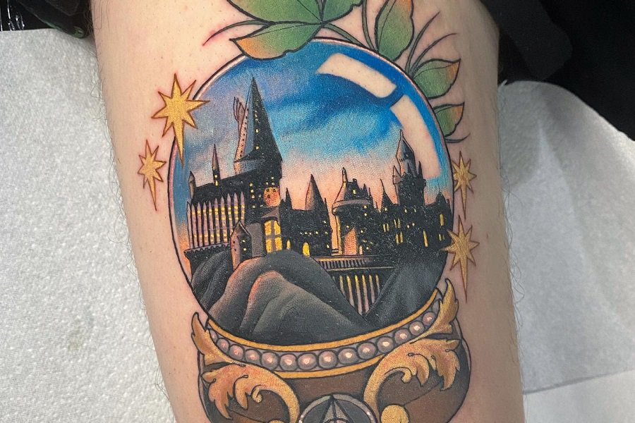 Harry Potter Stephanie Melbourn Hogwarts And The Houses 3 Fi