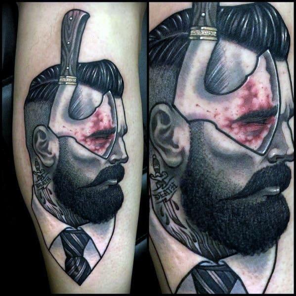 Hatchet Mens Tattoos