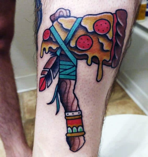 Hatchet Themed Tattoo Ideas For Men