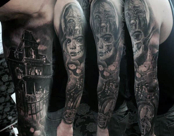 3bdd9799a Top 100 Best Sleeve Tattoos For Men - Cool Designs And Ideas