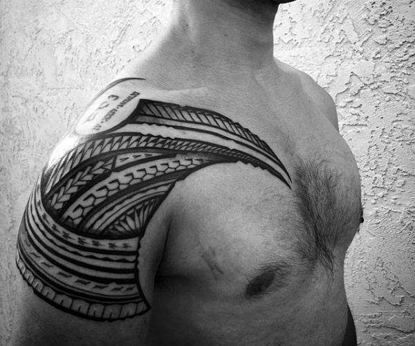 Hawaiian Arm Tattoos For Guys