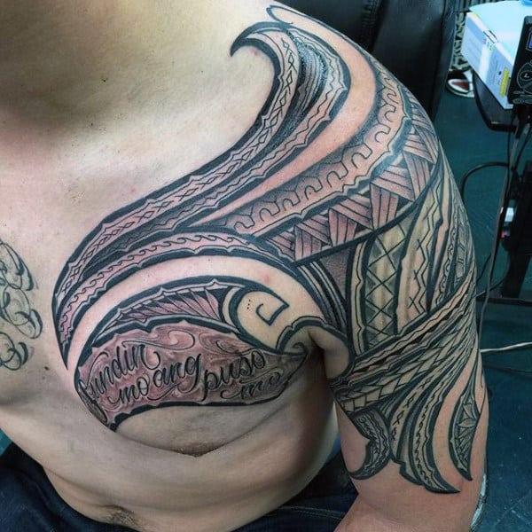 Hawaiian Themed Tattoos For Males