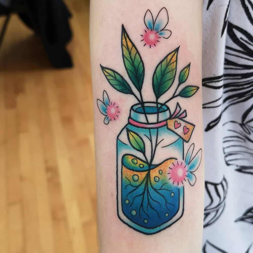 Healing Water Color Tattoo