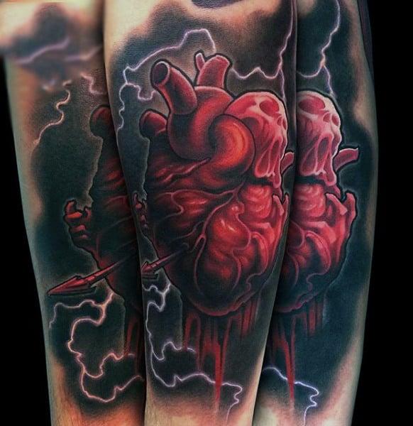 Simple Storm Tattoo