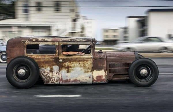 Heavily Rusted Custom Cool Rat Rods