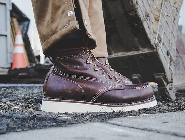 Heavy Duty Mens Work Boots Review Carolina Moc Toe Wedge