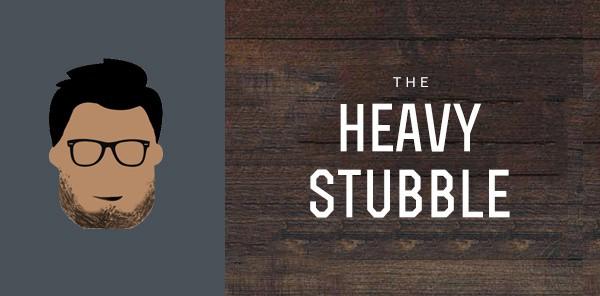 Heavy Stubble Facial Hair Types