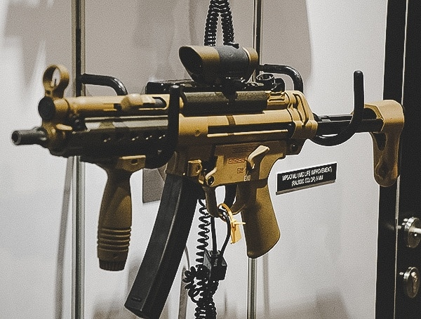 Heckler And Koch Flat Desert Earth Mp5 Sbr