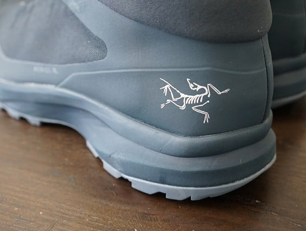 Heel Detail Arcteryx Aerios Fl Mid Gtx Guys Shoes