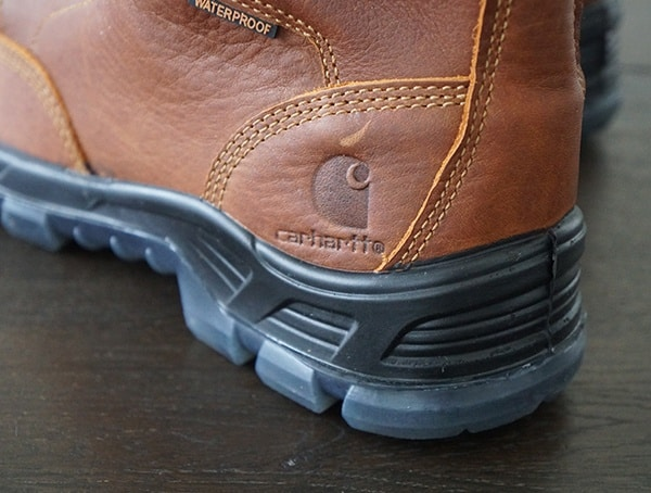 Heel Detail Carhartt Made In The Usa 8 Inch Composite Toe Mens Work Boot