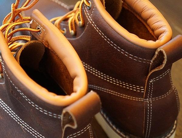 Heel Detail Carolina 6 Inch Wedge Sole Work Boots