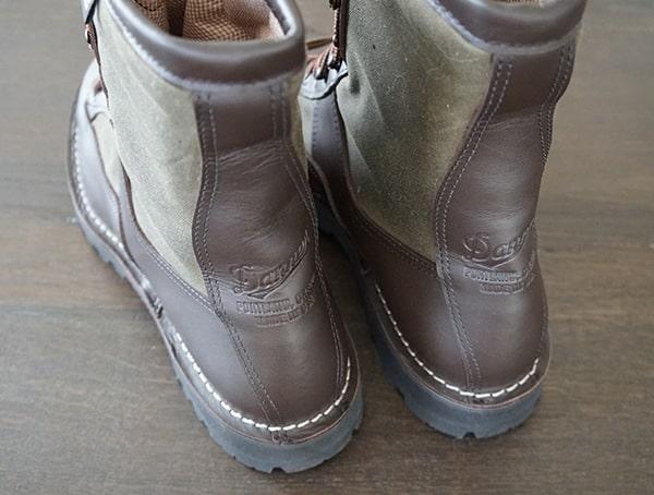 Heel Detail Filson X Danner Grouse Guys Boots