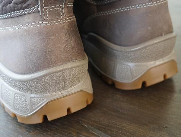 Heel Detail Mens Ecco Track 25 Hydromax Boots