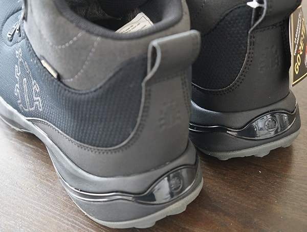 Heel Detail Mens Icebug Detour Bugrip Gore Tex Boots