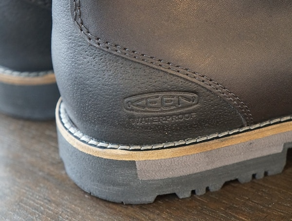 Heel Detailmens Keen The Slater Waterproof Boots With Embossed Brand