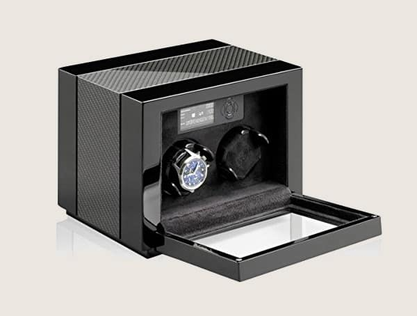 Heiden Quad Walnut Watch Winder