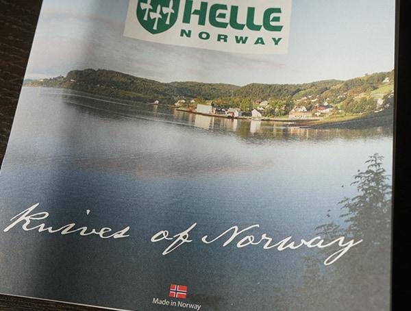 Helle Norway Knives Brochure