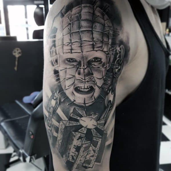 Hellraiser Male Tattoos