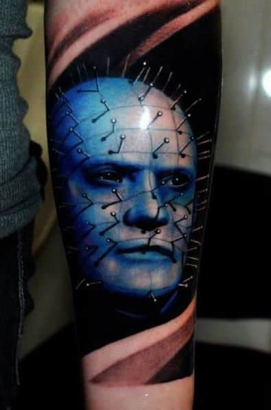 Hellraiser Tattoo Design Ideas For Men