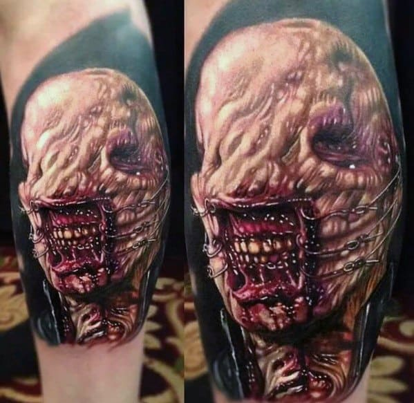 Hellraiser Tattoo Designs For Gentlemen