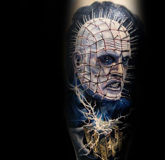 Hellraiser Tattoo Designs For Men