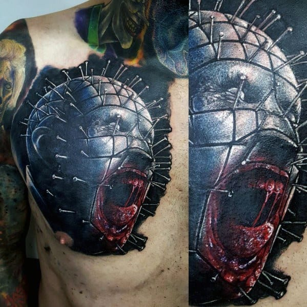Hellraiser Tattoo Ideas For Men